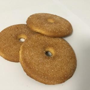 ciasteczka posypane cukrem